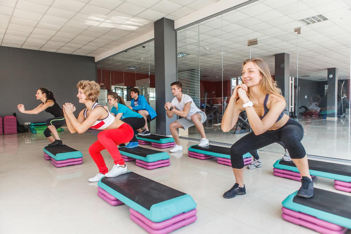 Круговые тренировки в фитнес-клубе Non-Stop Краснодар